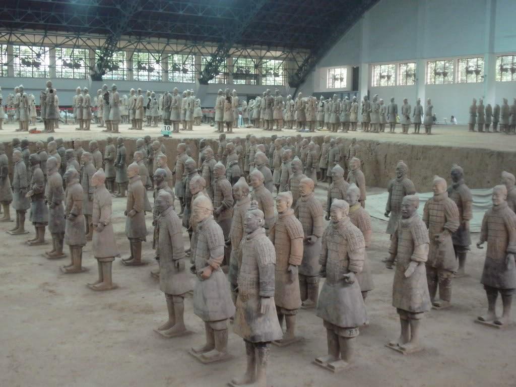 Xian Aeroporto : Xian e i guerrieri di terracotta u viaggi arte e cucina