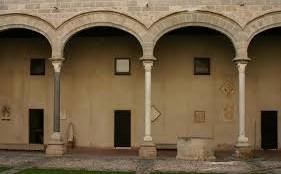 Il cortile di Palazzo Abatellis